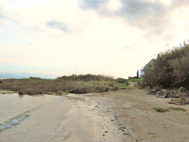 The beach beside Fishers Croft