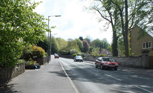 2010 : B3355 leaving Midsomer Norton