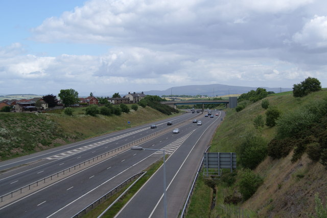 The M65 motorway near Junction 5