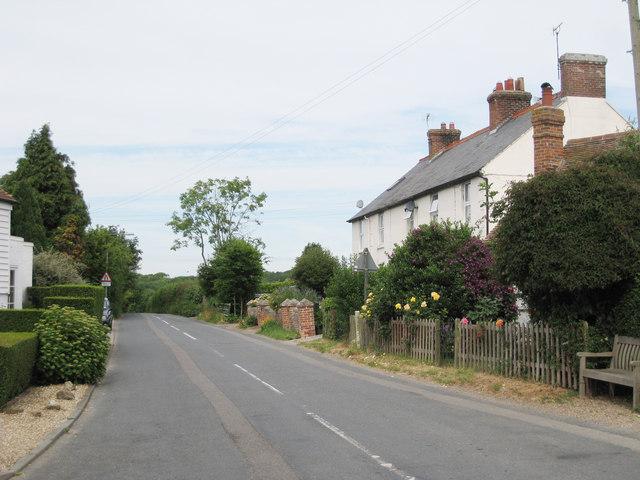 Cottages on B2067, Bilsington