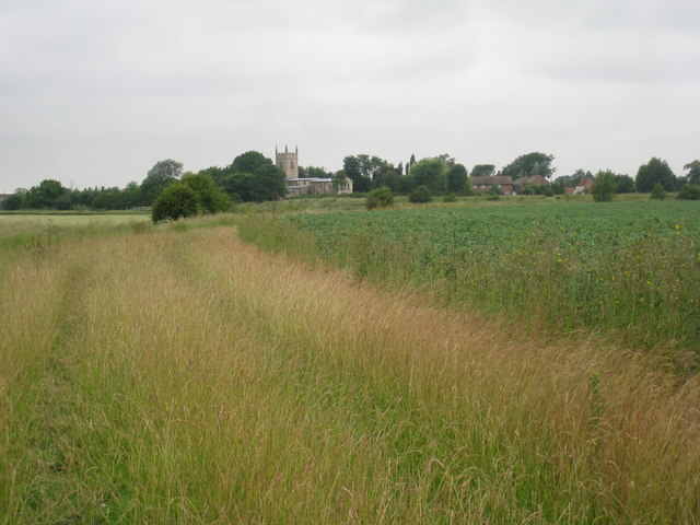 View towards Barnby from the Fenton footpath