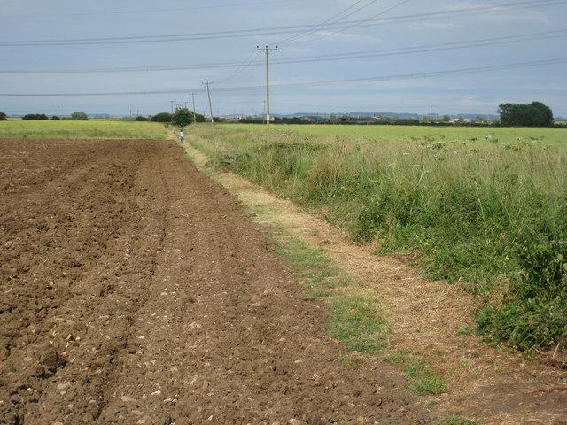 Footpath to Claypole off Spring Lane