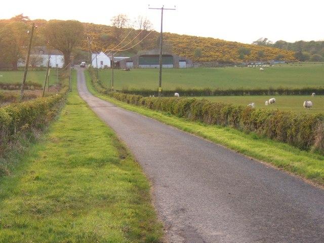 Road to Westland Farm
