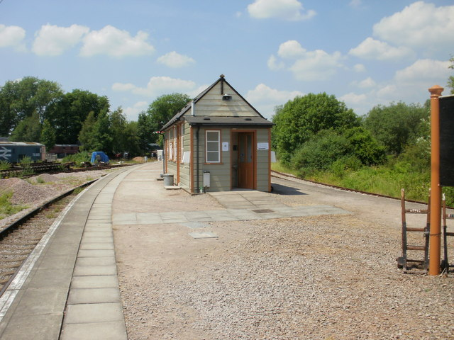 Refreshments building, Lydney Junction railway station