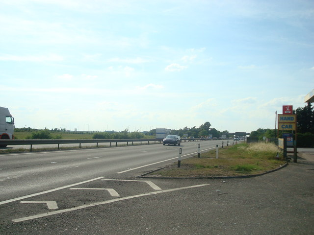 A14 near Swavesey