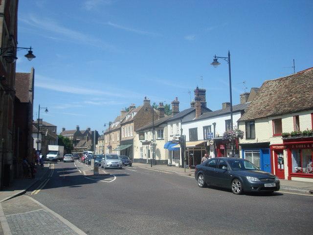 St Mary's Street, Ely