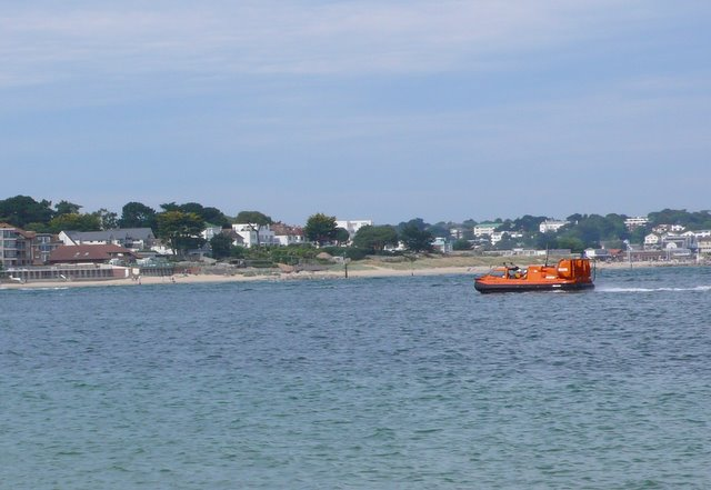 Hovercraft Lifeboat at Poole