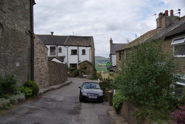 Lane leading to Prospect Terrace