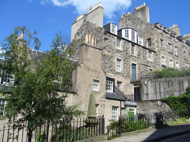 Houses on Calton Hill