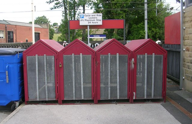 Cycle Lockers - Guiseley Station