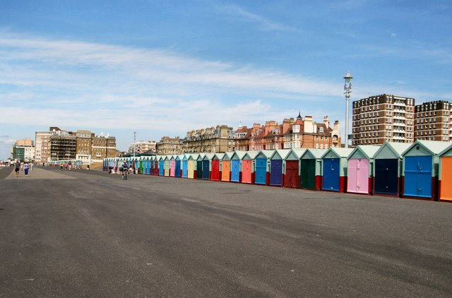 Beach huts on Kings Esplanade
