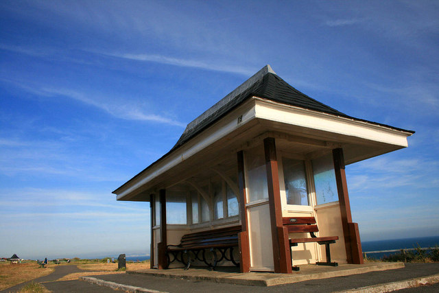 Shelter on Southbourne Cliff
