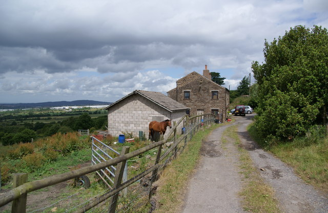 A smallholding at the bottom end of Bank Fold