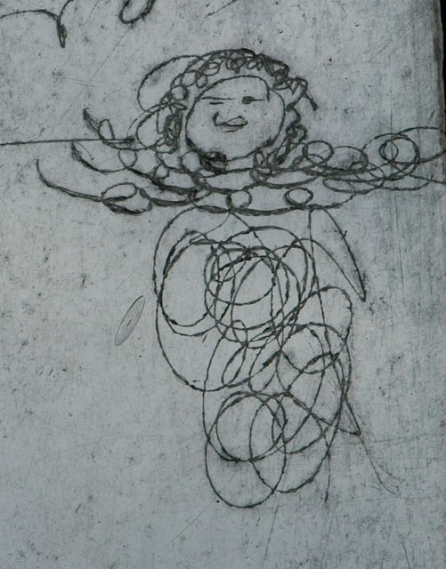 Window drawing, Oake church