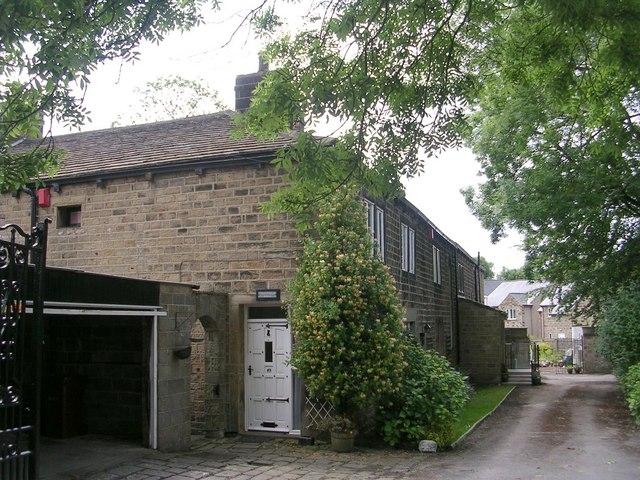 Tranfield Hall - Back Lane