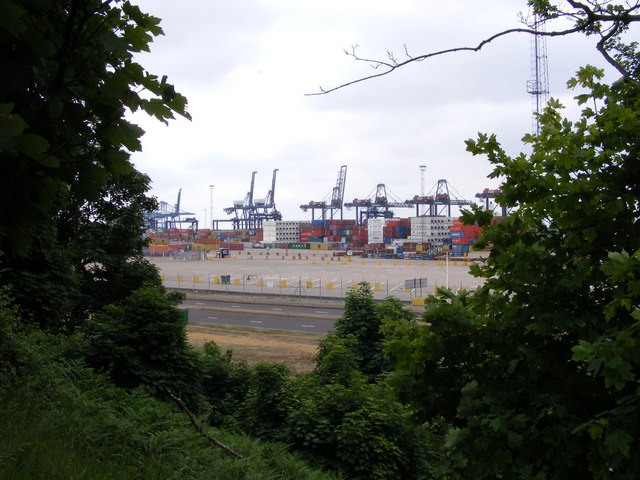 A glimpse of Felixstowe Container Terminal