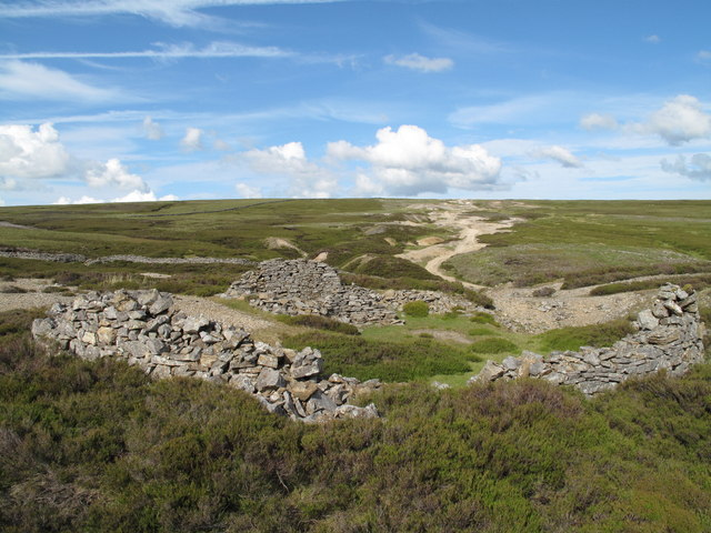 Ruin on Line of Friarfold Rake