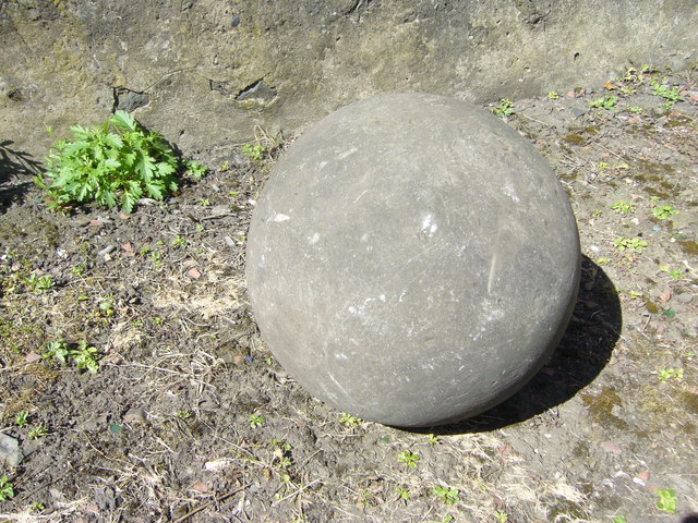 Stone ball, Old Calton Burying Ground