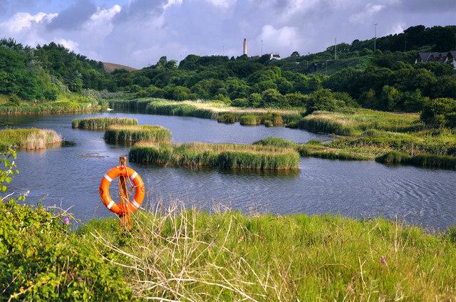 Lagoon - East Aberthaw