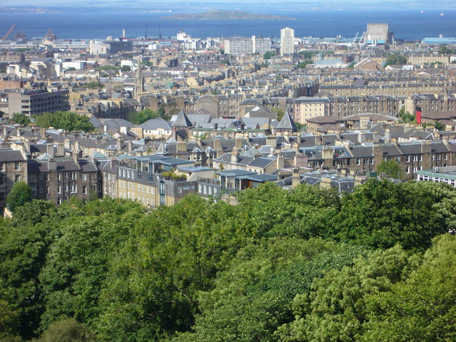 View towards Leith from the Calton Hill