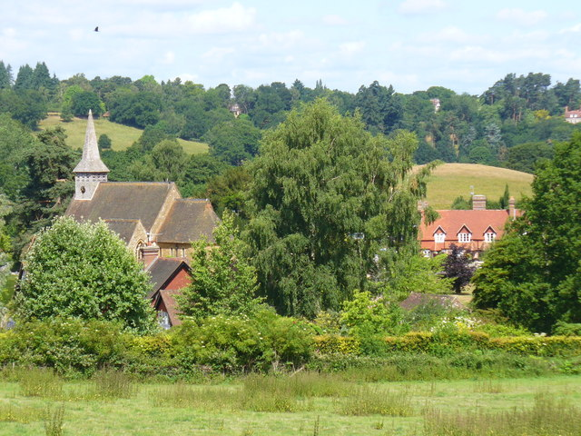 Hascombe from the South-East