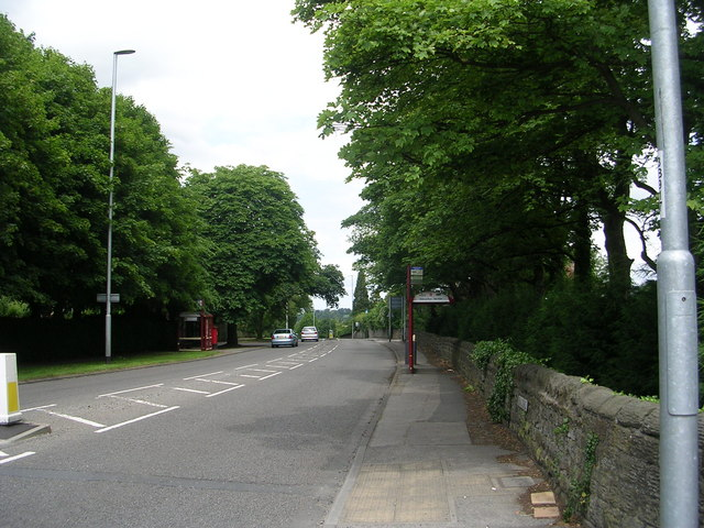Bradford Road - viewed from Park Road
