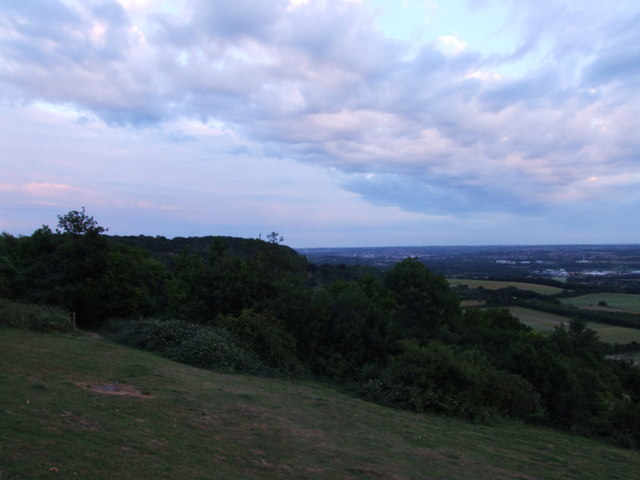 View from Blue Bell Hill