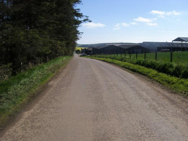 Road to Inverbervie