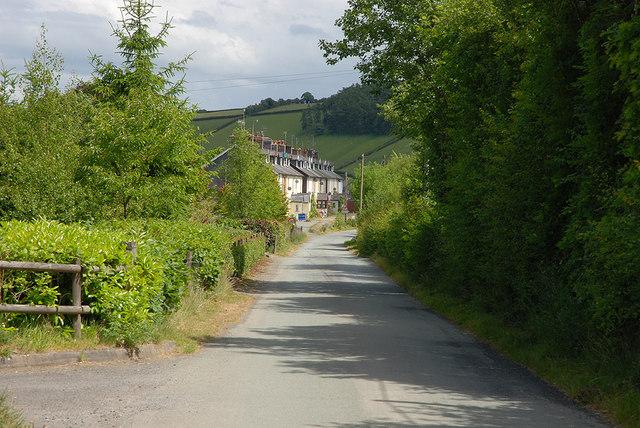 Western approach to Van Terrace