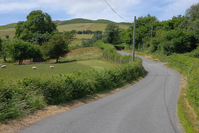 Road heading away from Van