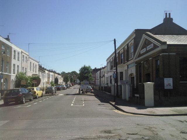 Street scene in Gravesend