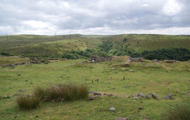 Site of a former farmhouse