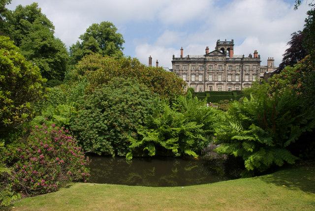 Biddulph Grange from the garden