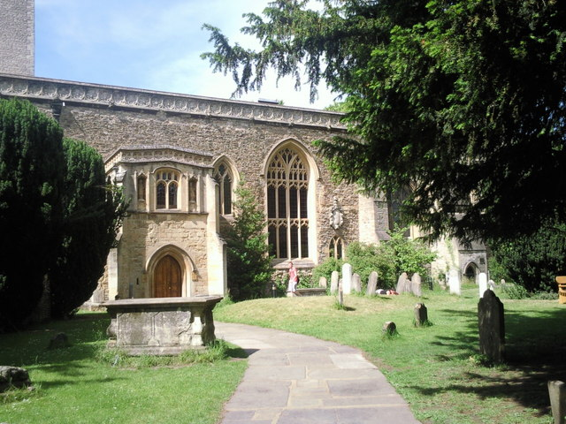 Churchyard of St Peter in the East, Oxford