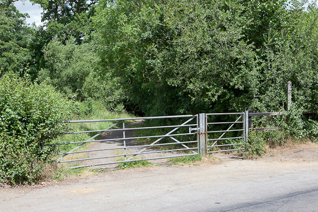 Bridleway to Crampmoor from Green Lane