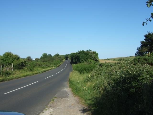 B3351 on Dean Hill