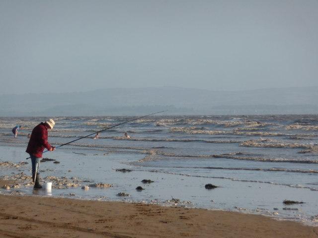 Brean : Fishing in the Sea