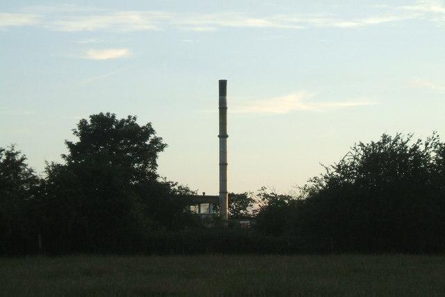 Incinerator Chimney - H.M. Stanley Hospital