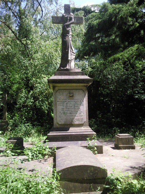Tomb in Old Barnes Cemetery
