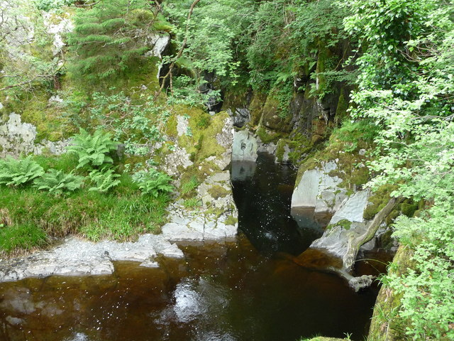 The Mynach near Devil's Bridge