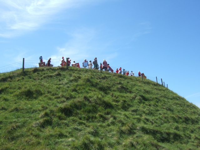 The Romans have reached Maiden Castle