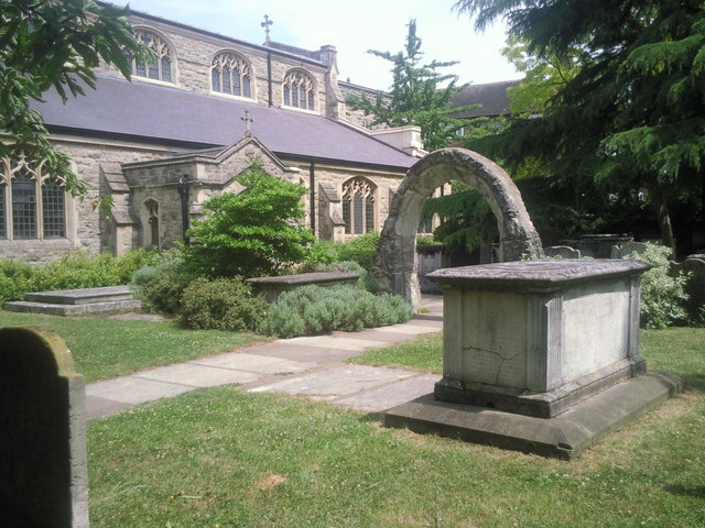 Churchyard of St Mary the Virgin, Mortlake