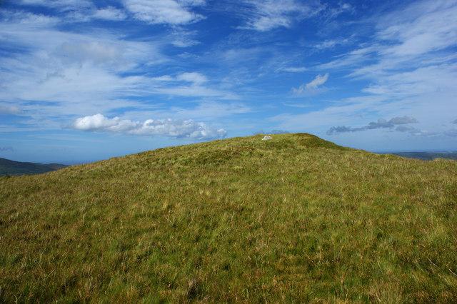 The summit of Moel Eilio