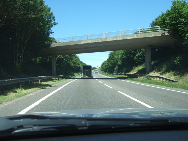 Bridge over the A35, Dorchester bypass
