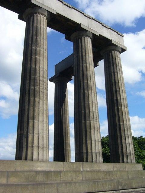 National Monument pillars, Calton Hill