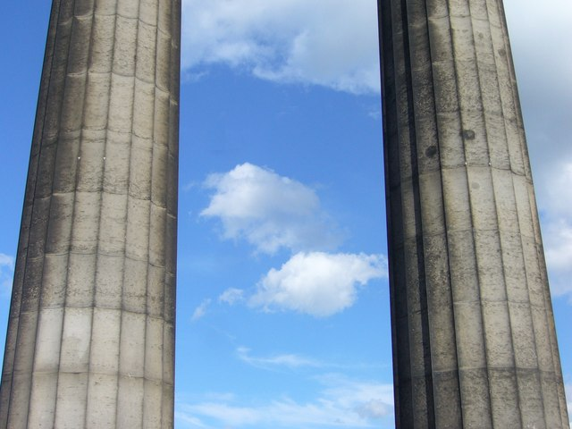 Pillars of the National Monument, Calton Hill