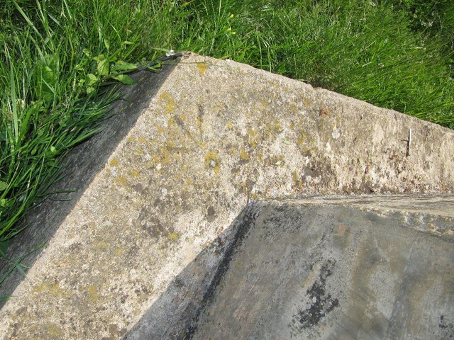 Benchmark on a corner