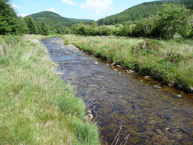 Part of the Afon Mynach