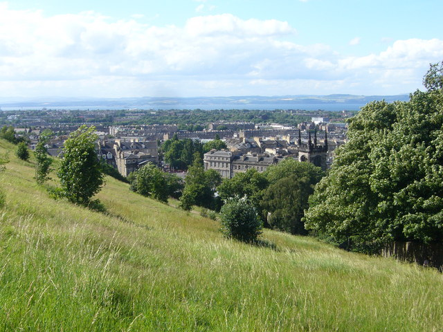 Northern slope of the Calton Hill