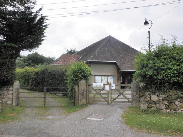 Belstone Village Hall